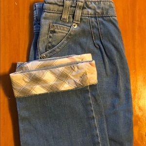 Girls Burberry Jeans